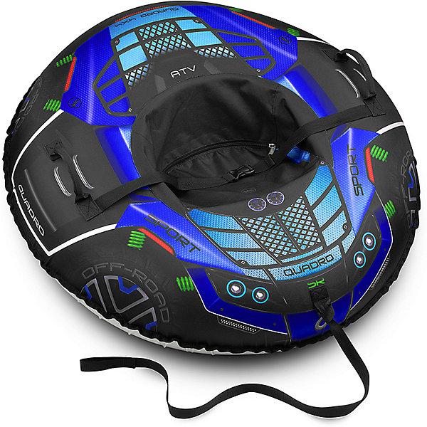 Купить Тюбинг Small Rider Asteroid Quadro 4x4 Квадроцикл, синий, Россия, Унисекс