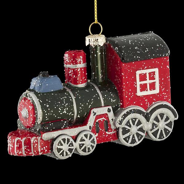 Erich Krause Украшение на ёлку ErichKrause Паровоз, 12 см игрушка ёлочная русские подарки игрушка ёлочная