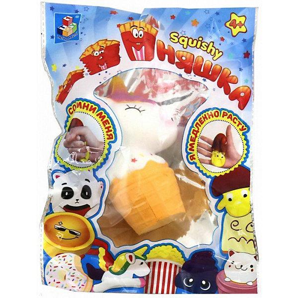 Купить Игрушка-антистресс 1Toy Мммняшка Единорог-мороженое, Китай, разноцветный, Унисекс