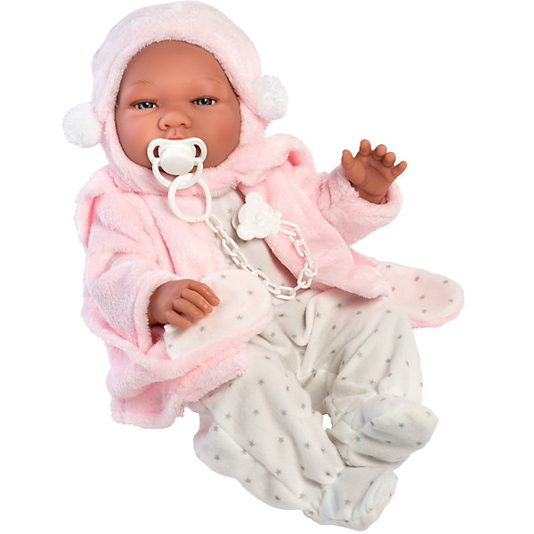 Asi Кукла-реборн Мария в розовом 43 см, арт 364530