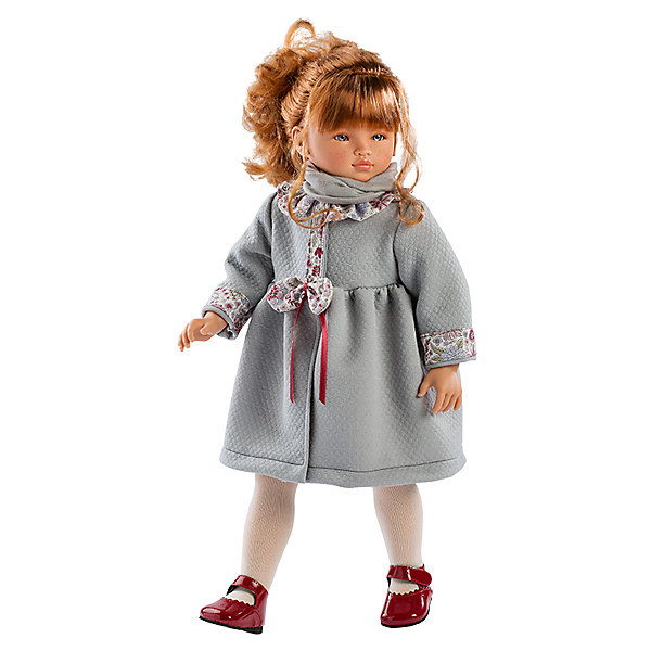 Купить Кукла Asi Эли в сером пальто 60 см, арт 314340, Испания, серый, Женский