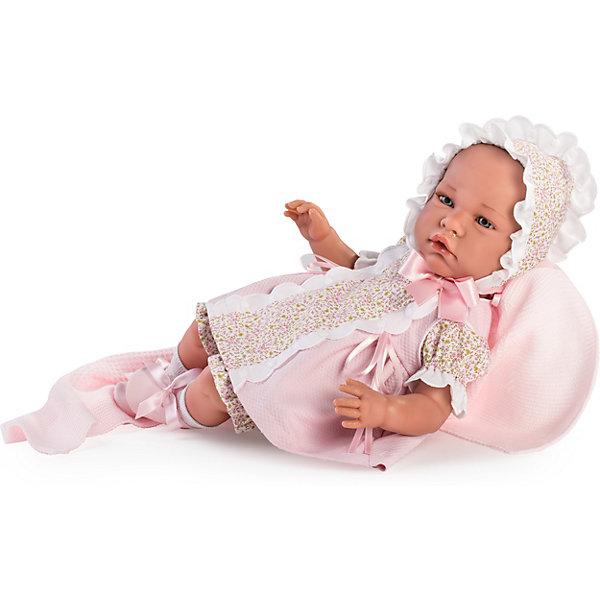 Asi Кукла-реборн Ирена в розовом 46 см, арт 474510