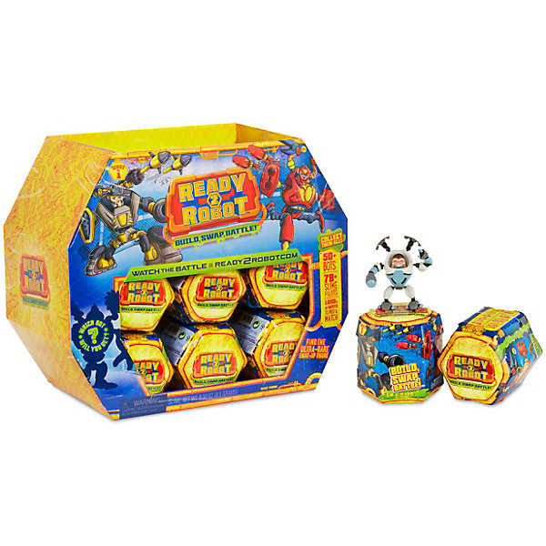 MGA Игровой набор Entertainment Ready2Robot Капсула