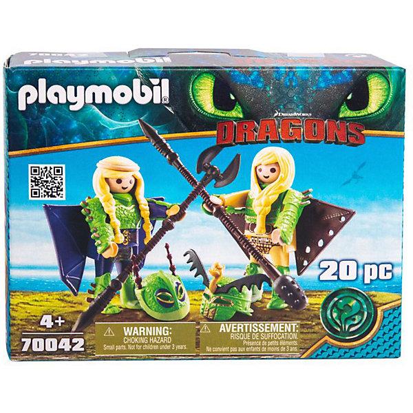 Купить Игровой набор Playmobil Dragons Забияка и Задирака , PLAYMOBIL®, Мужской