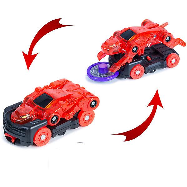 Купить Машинка-трансформер Screechers Wild Дикие Скричеры Рейсертус л1, Китай, красный, Мужской