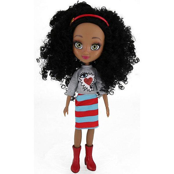Купить Кукла Freckle & Friends Подружка-веснушка Лула, 27 см, Freckle&Friends, Китай, черный, Женский