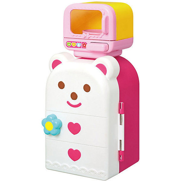 Kawaii Mell Аксессуары для куклы Kawaii Mell Микроволновка с холодильником