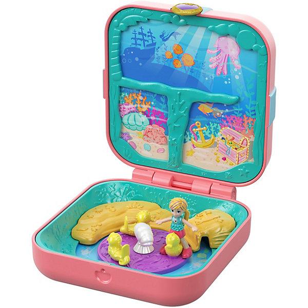 Mattel Игровой набор Polly Pocket Мини-мир Бухта русалки