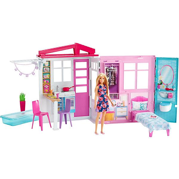 Раскладной домик для кукол Barbie от Mattel