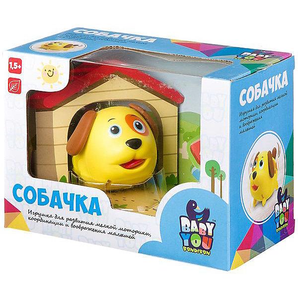 Bondibon Развивающая игрушка собачка с будкой