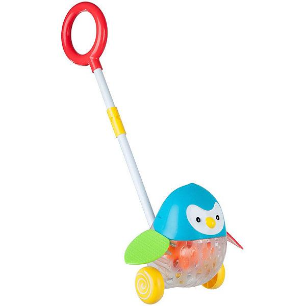 Bondibon Игрушка-каталка с ручкой Пингвин