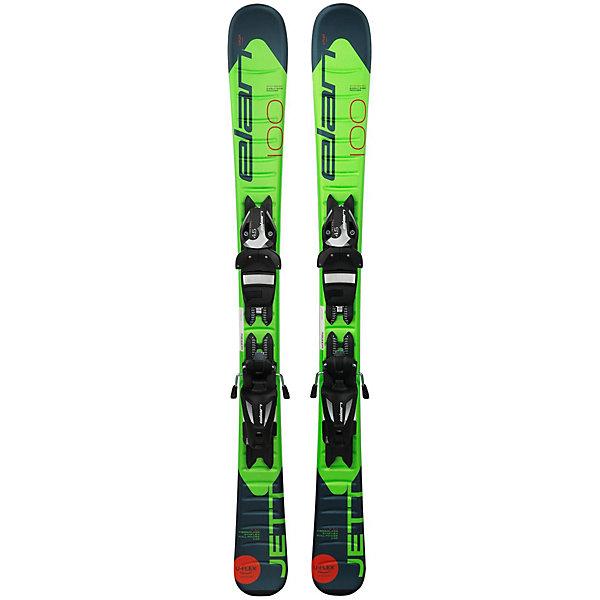 Elan Горные лыжи с креплениями Elan Jett, 90 см цена