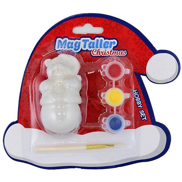 MagTaller Набор для творчества Magtaller Мишка набор для творчества разукрась фею фигурка 6 красок 1 кисточка
