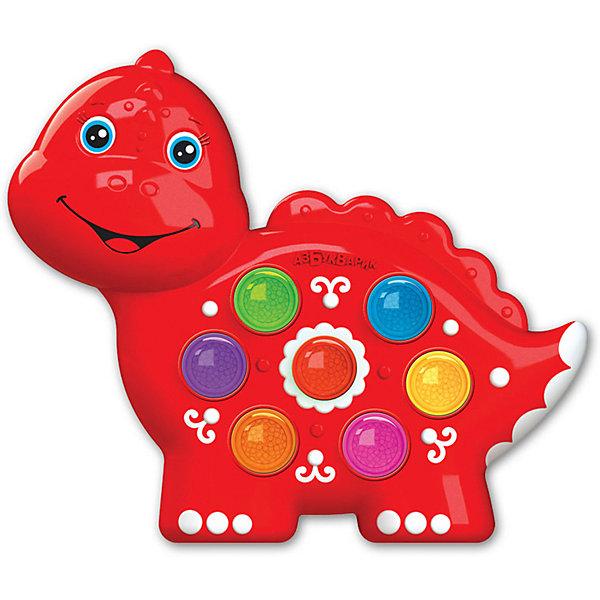 Азбукварик Музыкальная игрушка Азбукварик Веселушки Динозаврик игрушка азбукварик 81544 часики мой динозаврик