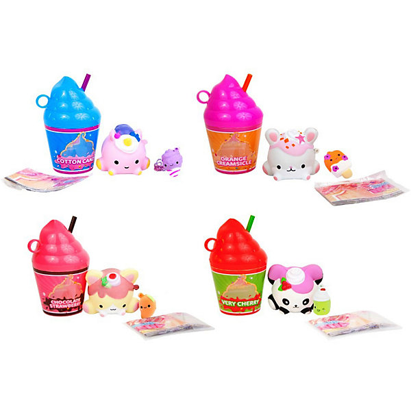 Smooshy Mushy Игрушка-антистресс Frozen Delight Десертный коктейль, 3 серия
