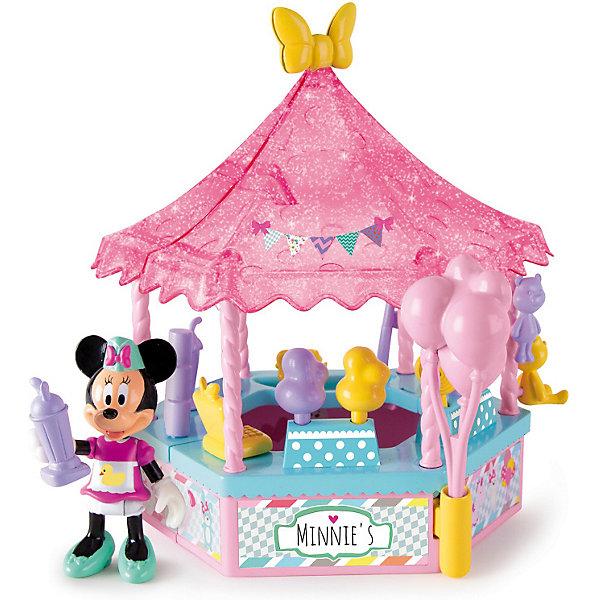 IMC Toys Игровой набор IMC toys Disney Mickey Mouse Минни: Весёлая ярмарка imc toys disney игровой набор микки и весёлые гонки кемпинг палатка 12 см фиг 8 см аксесс