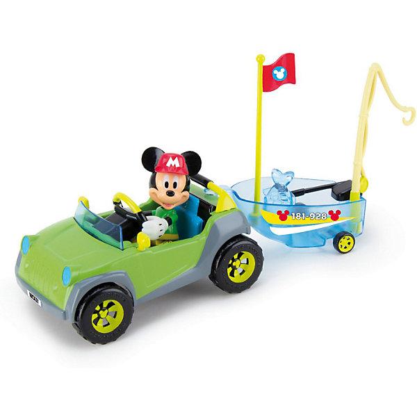 IMC Toys Игровой набор IMC toys Disney Mickey Mouse Микки и весёлые гонки: Приключения на рыбалке фигурки disney traditions фигурка микки и минни маус с колокольчиками с рождеством