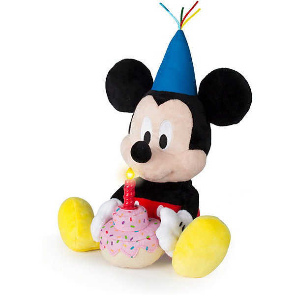 IMC Toys Интерактивная мягкая игрушка IMC toys Disney Mickey Mouse Микки и весёлые гонки: День рождения Микки imc toys disney мягкая игрушка микки и весёлые гонки поцелуй от микки 34 см интеракт звук
