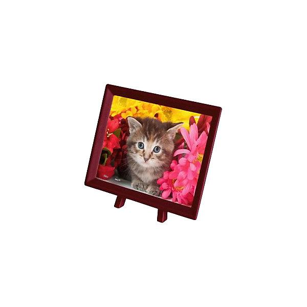 Купить Пазлы Pintoo Котёнок в цветах , 150 элементов, Тайвань, Унисекс