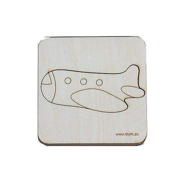 МУМ Игрушка-головоломка Вкладыш Самолёт
