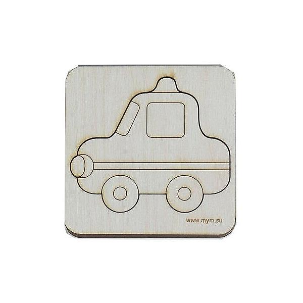 МУМ Игрушка-головоломка Вкладыш Полицейская машина