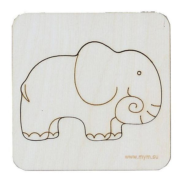 МУМ Игрушка-головоломка Вкладыш Слон