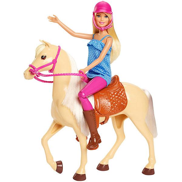 Купить Игровой набор с куклой Barbie, Барби и лошадь, Mattel, Китай, Женский