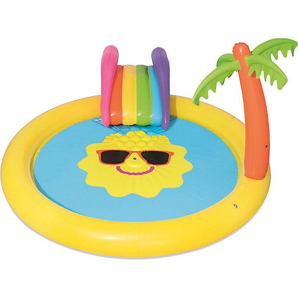 Надувной бассейн Bestway Солнышко, 237х201х104 см