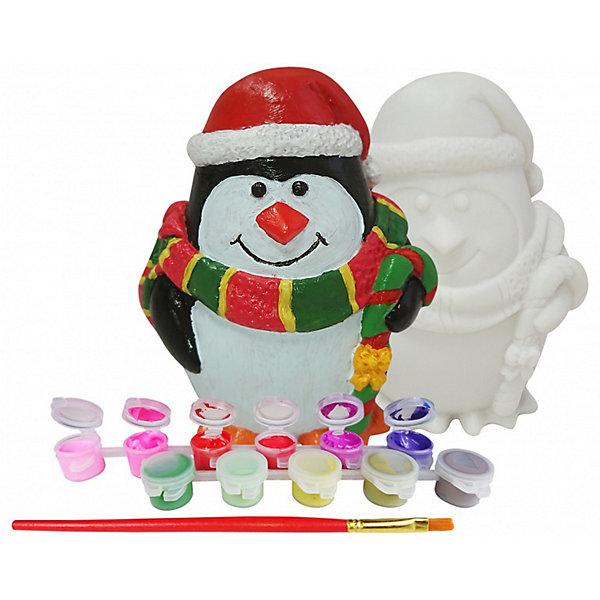 Color KIT Копилка Новогодний пингвин