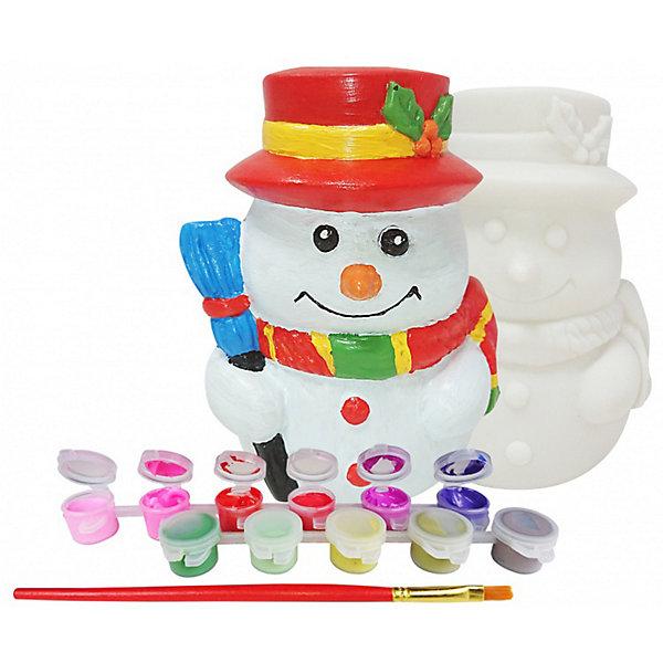 Color KIT Копилка Праздничный снеговик