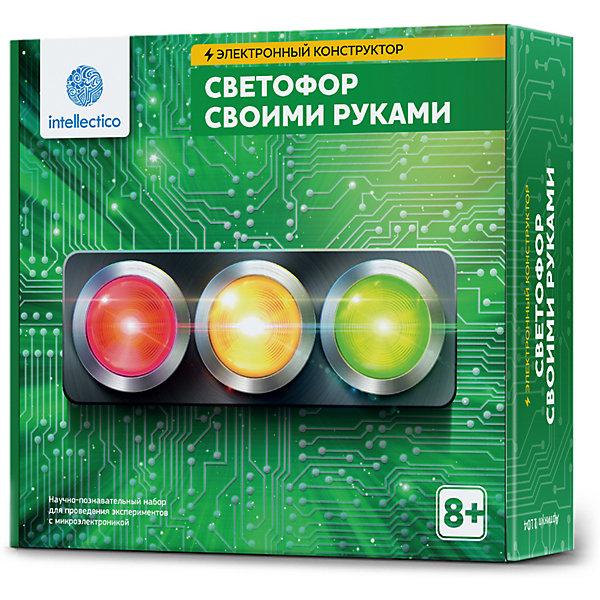 Купить Набор для опытов Intellectico Светофор своими руками , Россия, Унисекс