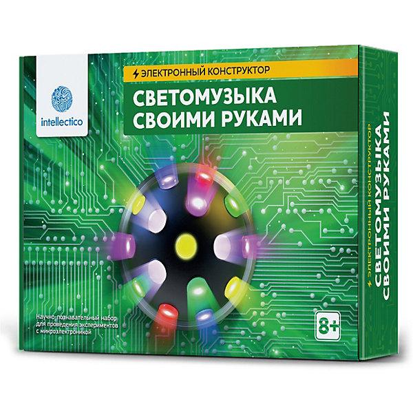 Купить Набор для опытов Intellectico Светомузыка своими руками , Россия, Унисекс