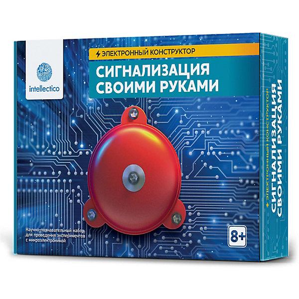 Купить Набор для опытов Intellectico Сигнализация своими руками , Россия, Унисекс