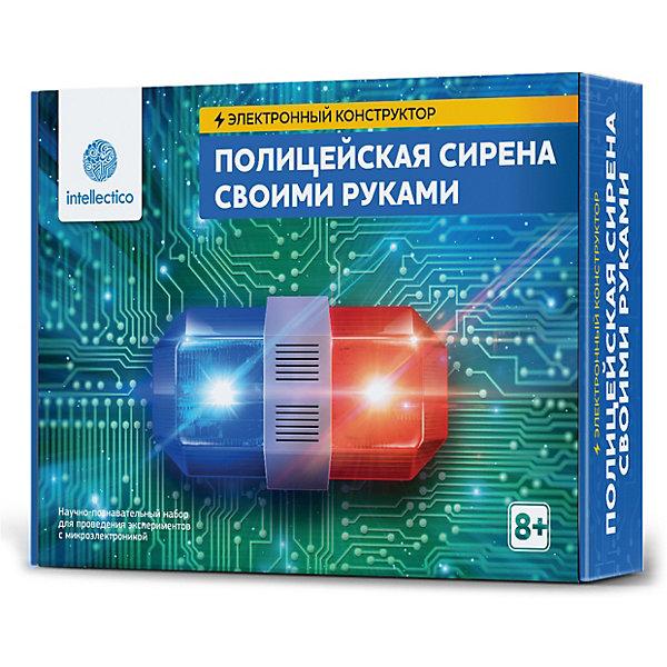 Купить Набор для опытов Intellectico Полицейская сирена своими руками , Россия, Унисекс