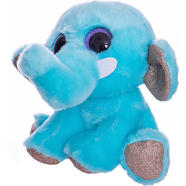 TEDDY Мягкая игрушка Teddy Слон, 14 см