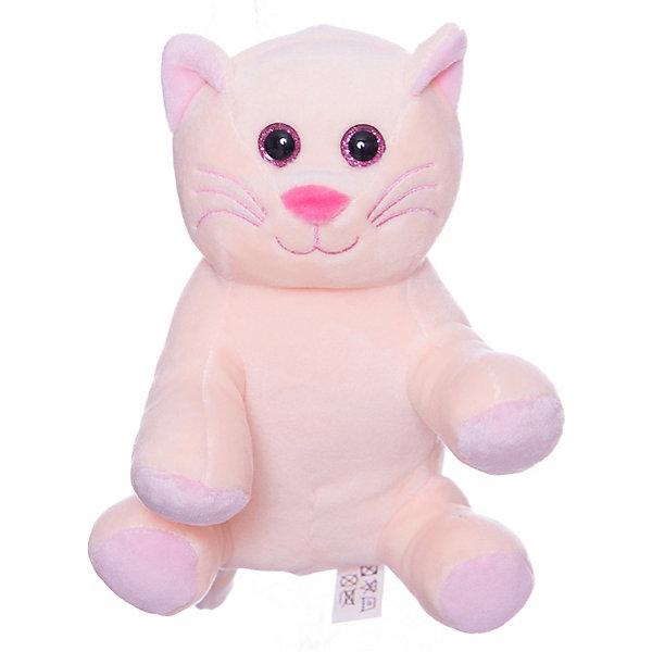 TEDDY Мягкая игрушка Teddy Кошка, 16,5 см