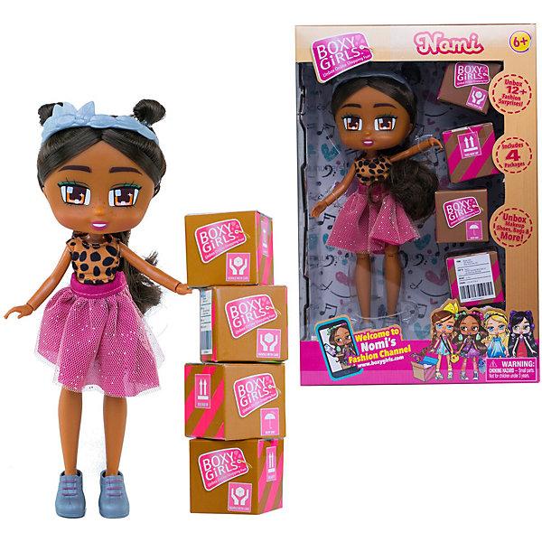 "1Toy Кукла 1Toy ""Boxy Girls"" Номи 20 см, с аксессуарами"