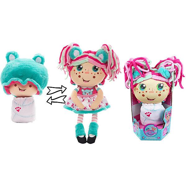 1Toy Мягкая кукла 2 в 1 1toy Девчушка-вывернушка Надюшка