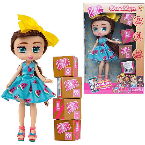"1Toy Кукла 1Toy ""Boxy Girls"" Бруклин 20 см, с аксессуарами"