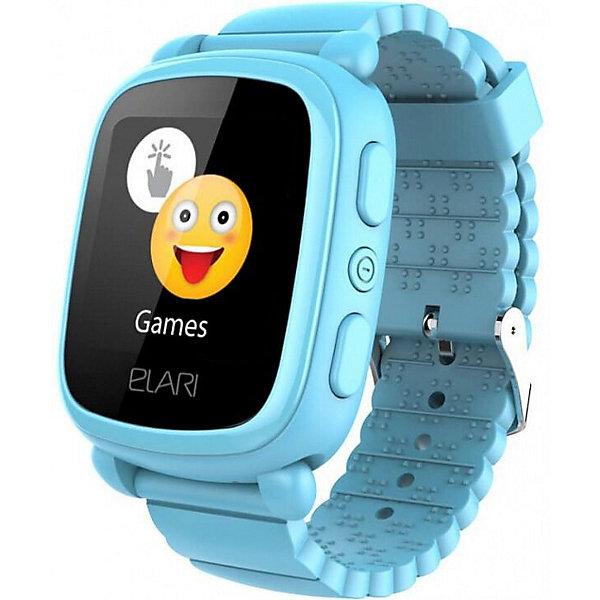 Elari Часы-телефон Kidphone 2, голубые
