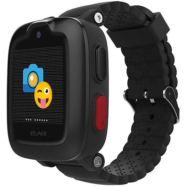 Elari Часы-телефон Kidphone 3G, черные