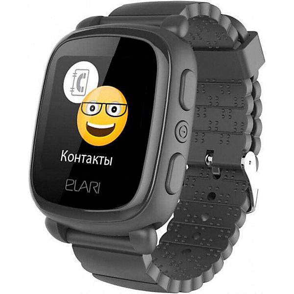 Elari Часы-телефон Kidphone 2, черные