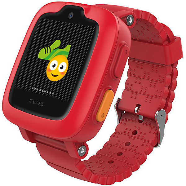 Elari Часы-телефон Kidphone 3G, красные