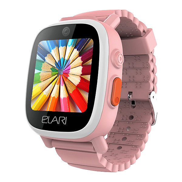 Elari Часы-телефон Elari Fixitime 3, розовые elari fixitime watch black