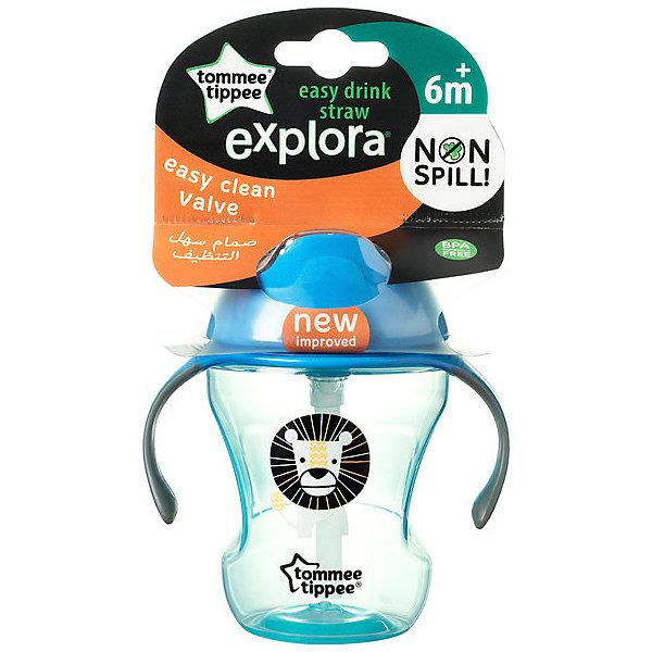 Tommee Tippee Чашка-непроливайка Explora Easy Drink от 6 мес, голубая