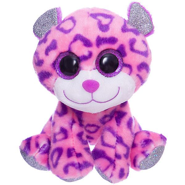 TEDDY Мягкая игрушка Teddy Снежный барс, 14 см игрушки для ванны воронежская игрушка игрушка для ванны снежный барс 13 см
