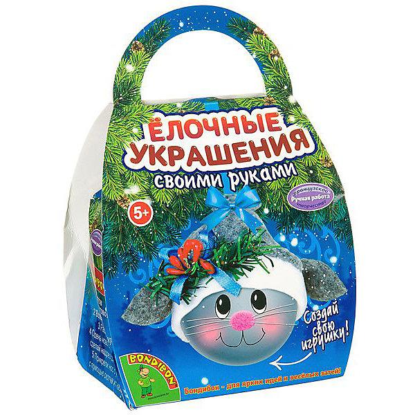 Bondibon Набор для творчества Шар-подарок Котик