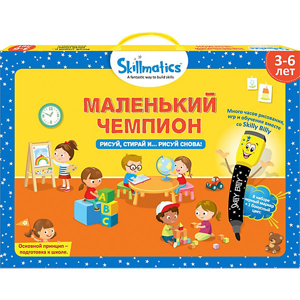 Grasper Набор развивающих игр Skillmatics Маленький чемпион