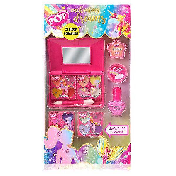 - Детская декоративная косметика Markwins POP для лица и ногтей