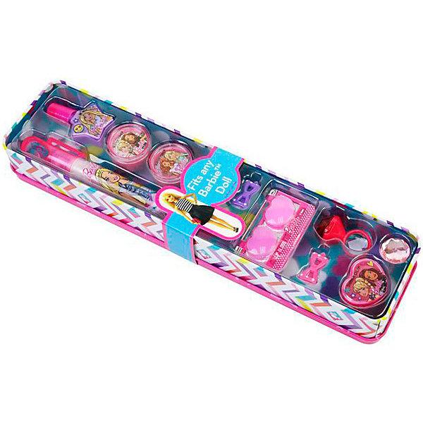 Markwins Детская декоративная косметика Markwins Barbie в открытом пенале детская косметика цептер